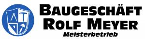 Baugeschäft Rolf Meyer Logo
